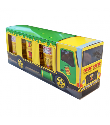 Toxic Waste Yellow Drum Truck 3-Pack (126g) Sweets and Candy Toxic Waste