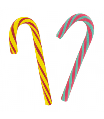 Trolli Giant Sour Brite Candy Canes - 2.5oz (71g) Sweets and Candy