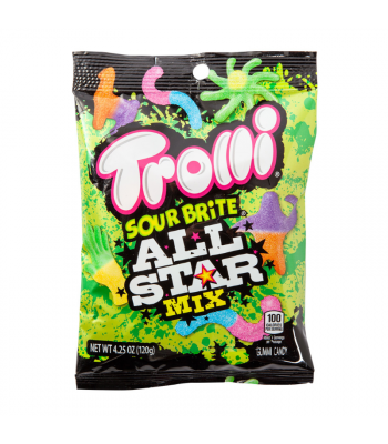 Trolli Sour Brite All-Star Mix - 4.25oz (113g) Sweets and Candy Trolli