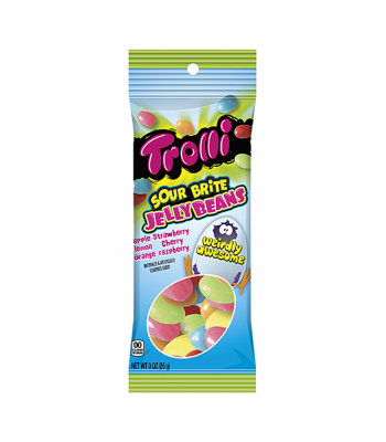 Trolli Sour Brite Jelly Beans 3oz (85g) Sweets and Candy Trolli