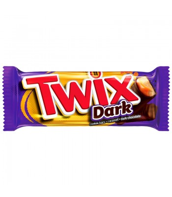 Twix - Dark Chocolate - 1.79oz (50.7g) Chocolate, Bars & Treats Twix