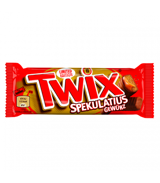 Clearance Special - Twix Limited Edition Ginger Cookie - (46g) ** Best Before: 14th April 2019 ** Clearance Zone