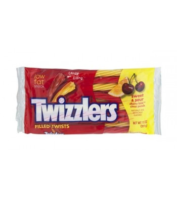 Twizzlers Sweet & Sour Filled Twist 11oz Bag