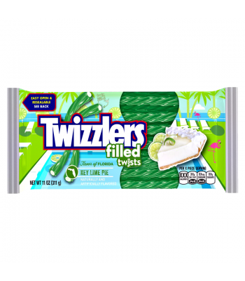 Clearance Special - Twizzlers Flavour of Florida - Key Lime Pie Filled Twists 11oz (311g) ** Best Before: March 2018 ** Clearance Zone