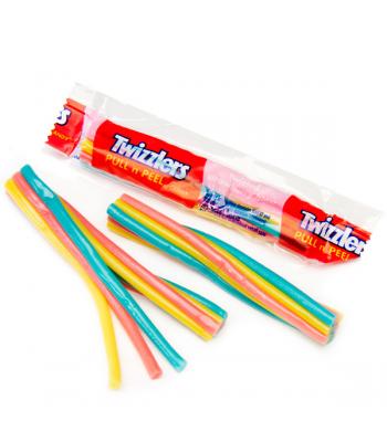 Twizzlers Twizted Strawberry Blast Mini candy Soft Candy Twizzlers