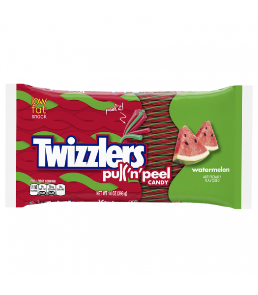 Twizzlers - Watermelon Pull N Peel - 14oz (397g)