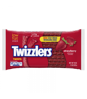 Twizzlers - Strawberry Big Pack - 16oz (454g)