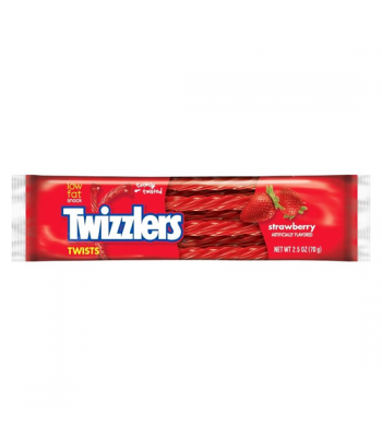 Twizzlers Strawberry Twists 70g Soft Candy Twizzlers