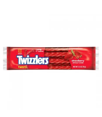 Twizzlers Strawberry Twists 70g Soft Candy Twizzlers