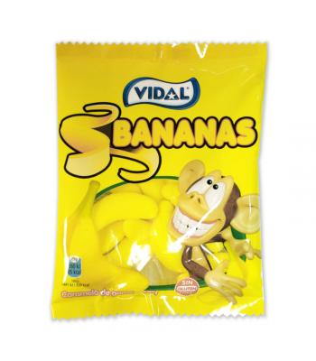 Vidal Bananas - 3.5oz (100g) Sweets and Candy Vidal