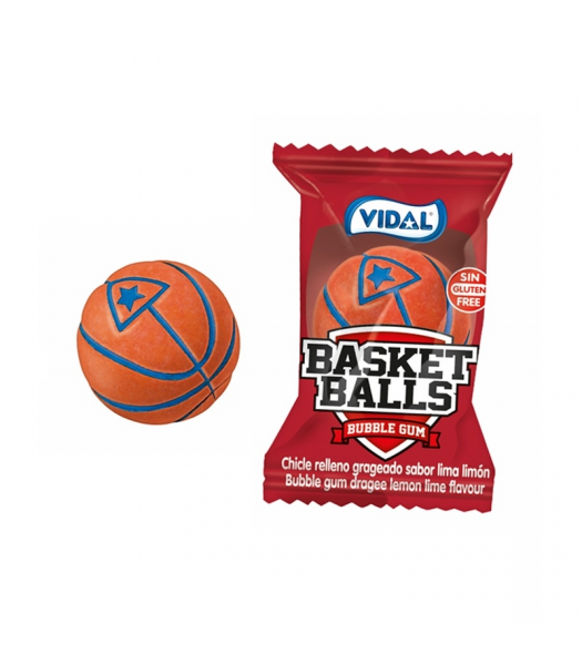 Vidal Basketball Gum - SINGLE Sweets and Candy