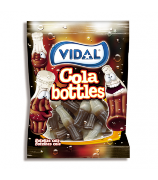 Vidal Cola Bottles - 3.5oz (100g) Sweets and Candy Vidal