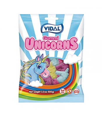 Vidal Gummies Unicorn - 3.5oz (100g)