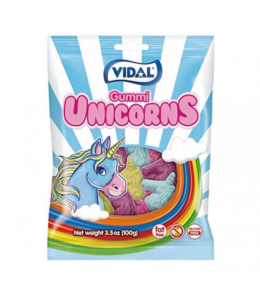Vidal Gummies Unicorn - 3.5oz (100g)