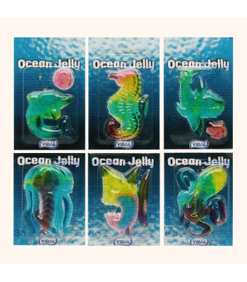Vidal Ocean Gummi - oz (g) Sweets and Candy
