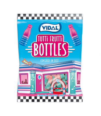 Vidal Tutti Frutti Bottles - 3.5oz (100g) Sweets and Candy Vidal