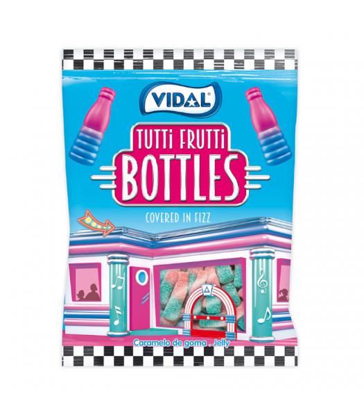 Vidal Tutti Frutti Bottles - 3.5oz (100g) Sweets and Candy Vidal