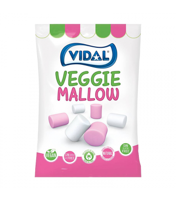 Vidal Veggie Mallow - 150g Sweets and Candy Vidal
