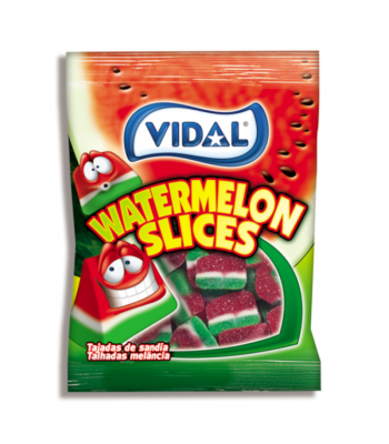 Vidal Watermelon Slices - 3.5oz (100g) Sweets and Candy Vidal
