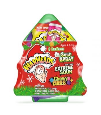 Warheads Assortment Christmas Tree - 4.23oz (120g) [Christmas] Sweets and Candy Warheads