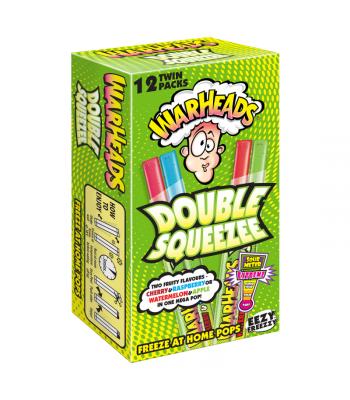 Warheads Double Squeezee Freeze Pops 12pk