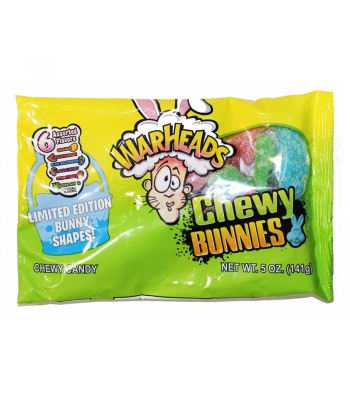 Warheads Chewy Bunnies - 5oz (141g) Sweets and Candy Warheads