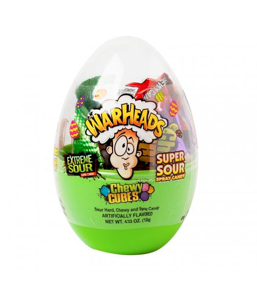 Warheads Filled Scrambler Egg - 4.23oz (120g) Sweets and Candy Warheads
