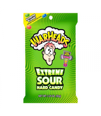 Warheads Extreme Sour Hard Candy 3.25oz (92g) Hard Candy Warheads