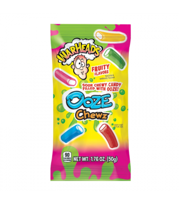 Warheads Ooze Chewz - 1.76oz (50g) Sweets and Candy Warheads