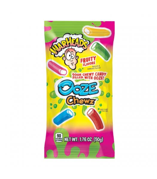 Warheads Ooze Chewz - 1.76oz (50g) Sweets and Candy Warheads