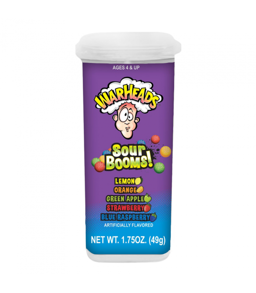 Clearance Special - Warheads Sour Booms! - 1.75oz (49g) **Best Before: 14 May 21** Clearance Zone