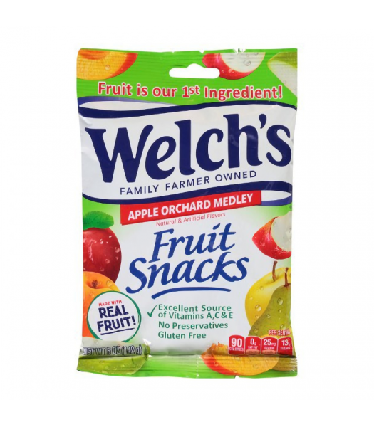 Welch's Fruit Snacks Apple Orchard Medley - 5oz (142g) Sweets and Candy Welch's
