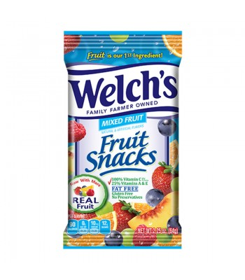 Welch's Fruit Snacks Mixed Fruit 2.25oz (64g)