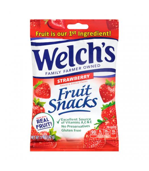 Welch's Fruit Snacks Strawberry - 5oz (142g)