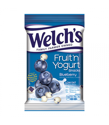 Welch's Fruit 'N Yogurt Blueberry Snacks - 4.25oz (120g) Sweets and Candy Welch's