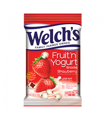 Welch's Fruit 'N Yogurt Strawberry Snacks 4.25oz (120g) Sweets and Candy Welch's