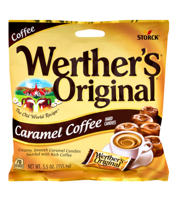 Werther's Original Caramel Coffee Hard Candies BIG BAG 5.5oz (155.9g) Hard Candy Werther's Original