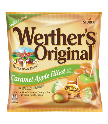 Werther's Original Caramel Apple Filled Hard Candies 2.65oz (75g) Hard Candy Werther's Original