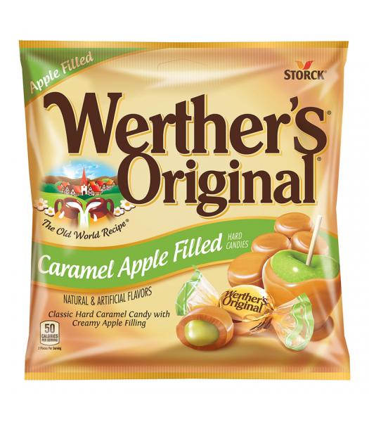 Werther's Original Caramel Apple Filled Hard Candies 2.65oz (75g) Hard Candy Werther's Original