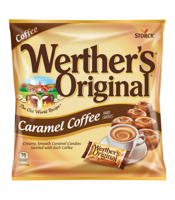 Werther's Original Caramel Coffee Hard Candies 2.65oz (75g) Hard Candy Werther's Original