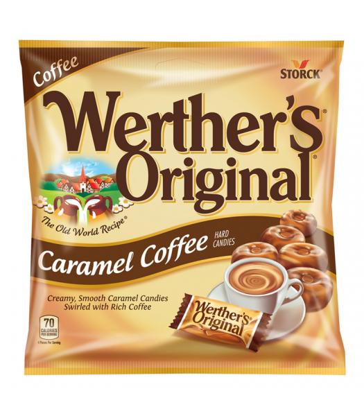 Werther's Original Caramel Coffee Hard Candies 2.65oz (75g) Hard Candy Werther's Original