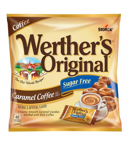 Werther's Original Caramel Coffee SUGAR FREE Hard Candies 1.46oz (41.4g) Hard Candy Werther's Original