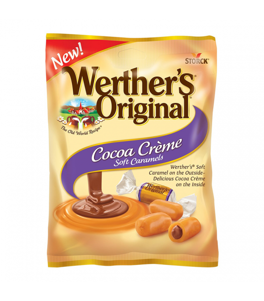 Werther's Original Cocoa Creme Soft Caramels - 2.22oz (63g) Sweets and Candy Werther's Original
