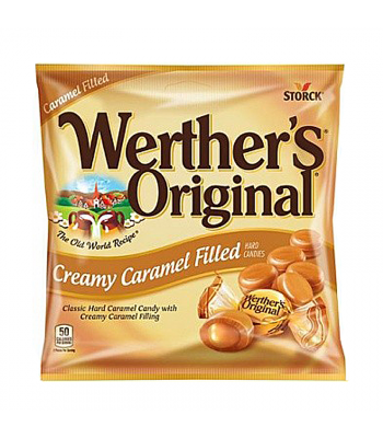 Werther's Original Creamy Caramel Filled Hard Candies 2.65oz (75g) Hard Candy Werther's Original