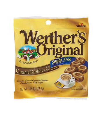 Clearance Special - Werther's Original Sugar Free Caramel Coffee Hard Candies 1.46oz (41.4g) (Best Before: 30 Nov 2015)