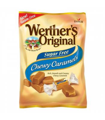 Clearance Special - Werther's Original Sugar Free Chewy Caramel Candies 1.46oz (41g) (Best Before: 30 Nov 2015)