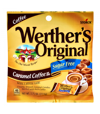 Werther's Original Caramel Coffee SUGAR FREE Hard Candies 2.75oz (77.9g) Hard Candy Werther's Original