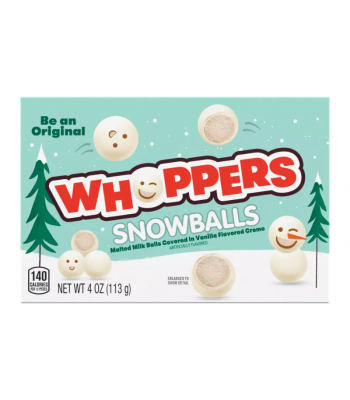 Whoppers Snowballs - 4oz (113g) Sweets and Candy Whoppers