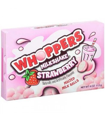 Clearance Special - Whoppers Strawberry Milkshake 4oz (113g) **DAMAGED** Clearance Zone