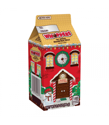 Whoppers Mini Holiday Carton - 3.5oz (99g) [Christmas] Sweets and Candy Whoppers